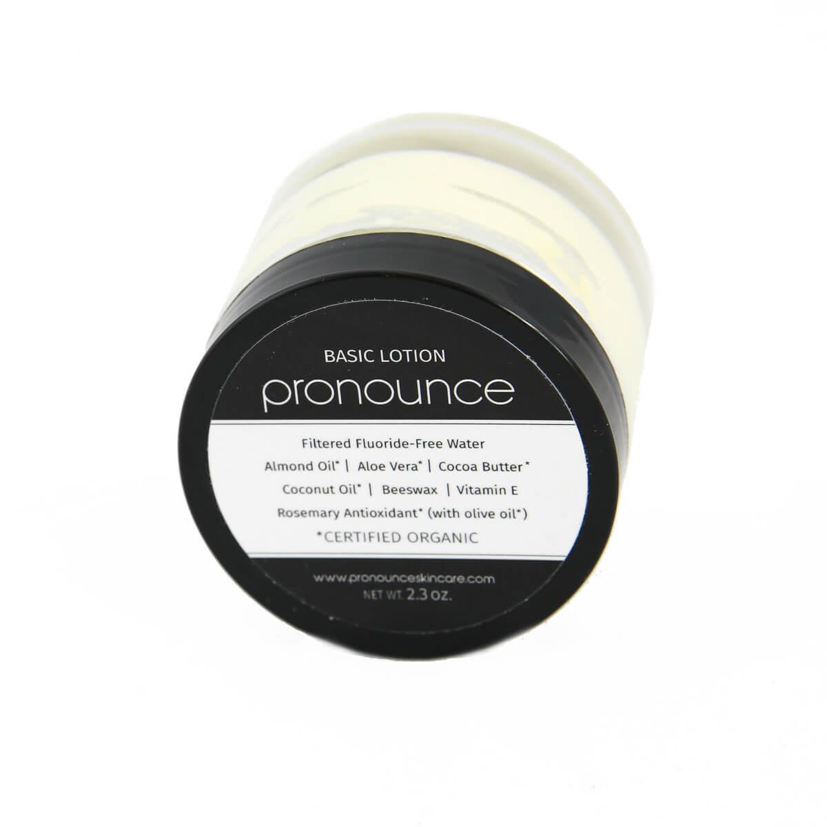 Basic Lotion 2.3oz Pronounce Skincare & Herbal Boutique