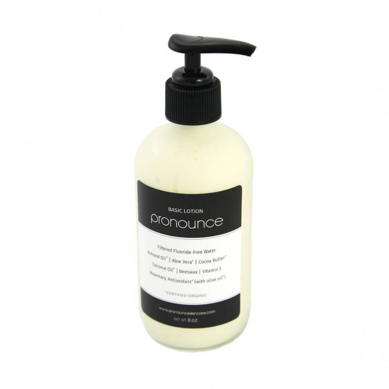 Basic Lotion 8oz Pronounce Skincare & Herbal Boutique