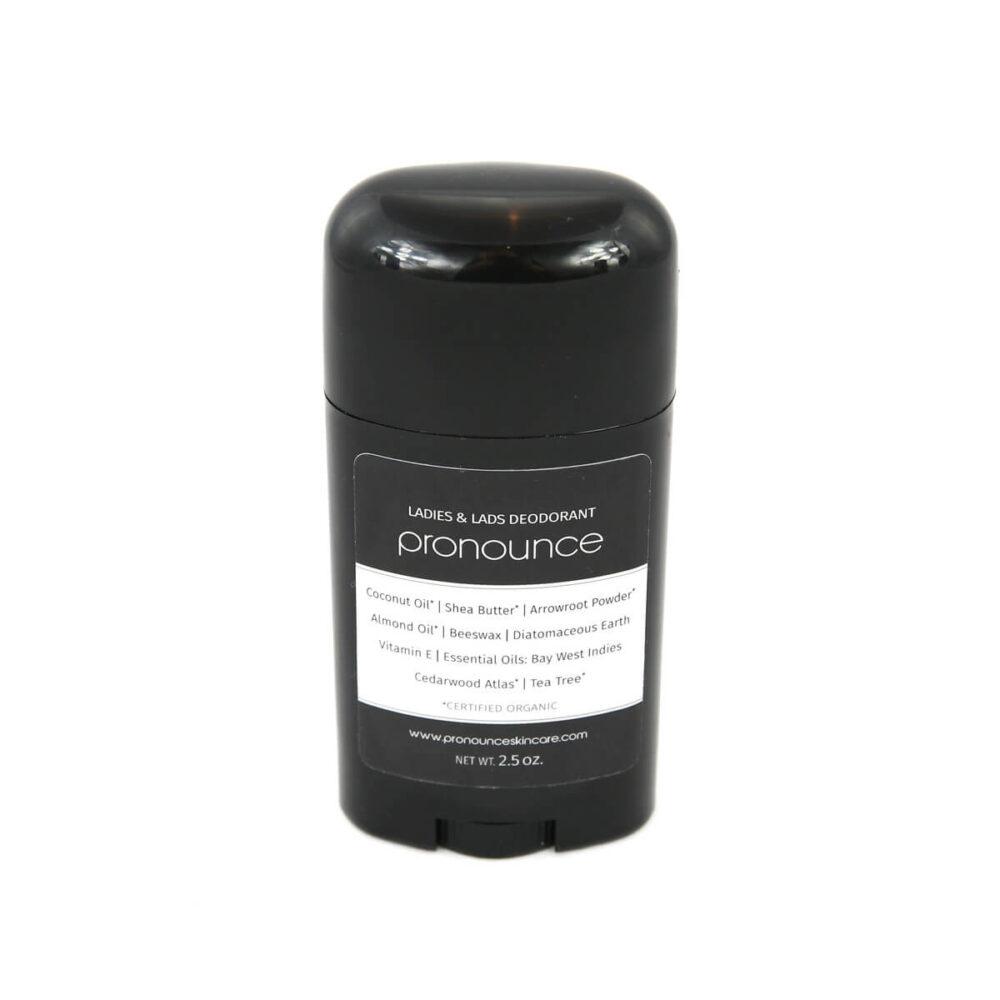 Ladies & Lads Deodorant 2.5oz Pronounce Skincare & Herbal Boutique