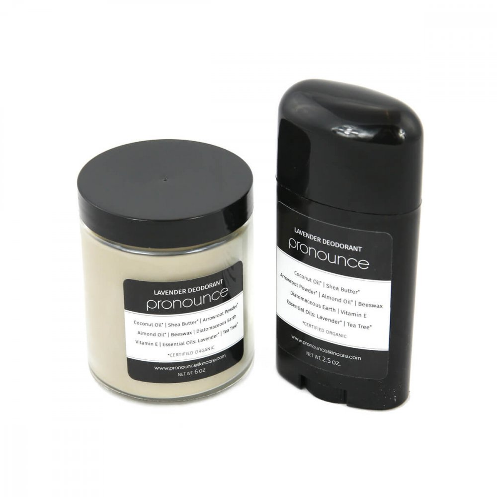 Lavender Deodorant 2 Sizes Pronounce Skincare & Herbal Boutique