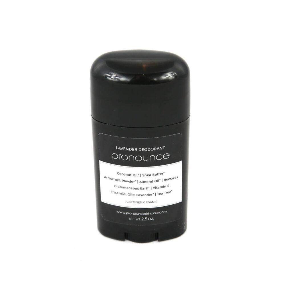 Lavender Deodorant 2.5oz Pronounce Skincare & Herbal Boutique