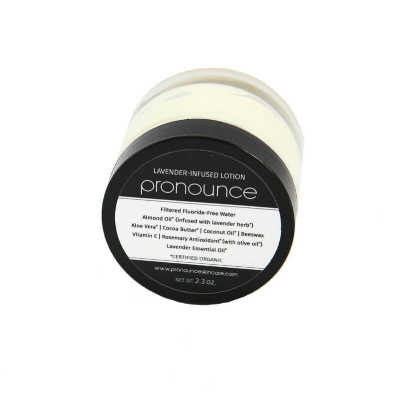 Lavender-Infused Lotion 2.3oz Pronounce Skincare & Herbal Boutique