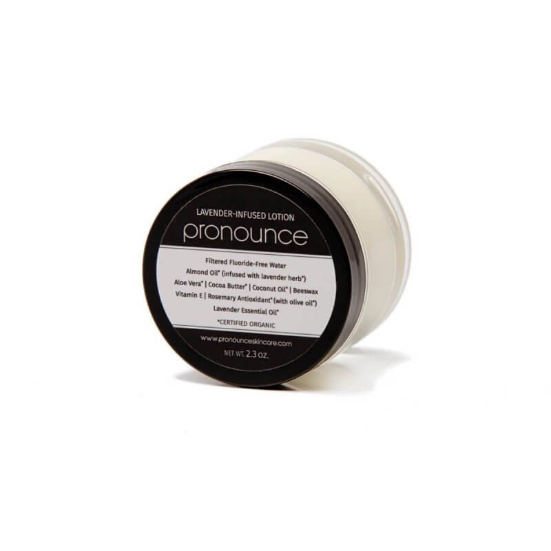 Lavender-Infused Lotion (2.3oz lid on) - Pronounce Skincare 1200 x 1200