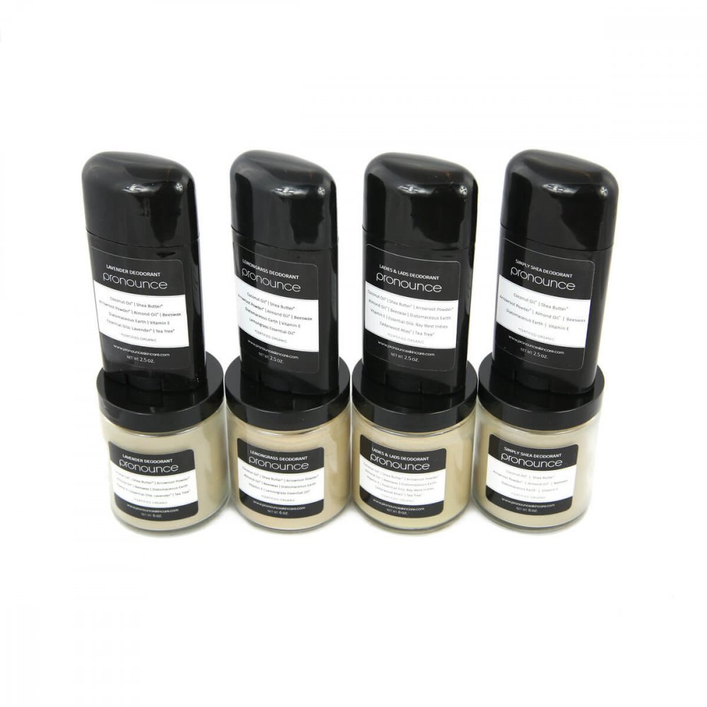 Original Deodorants All Sizes Pronounce Skincare & Herbal Boutique