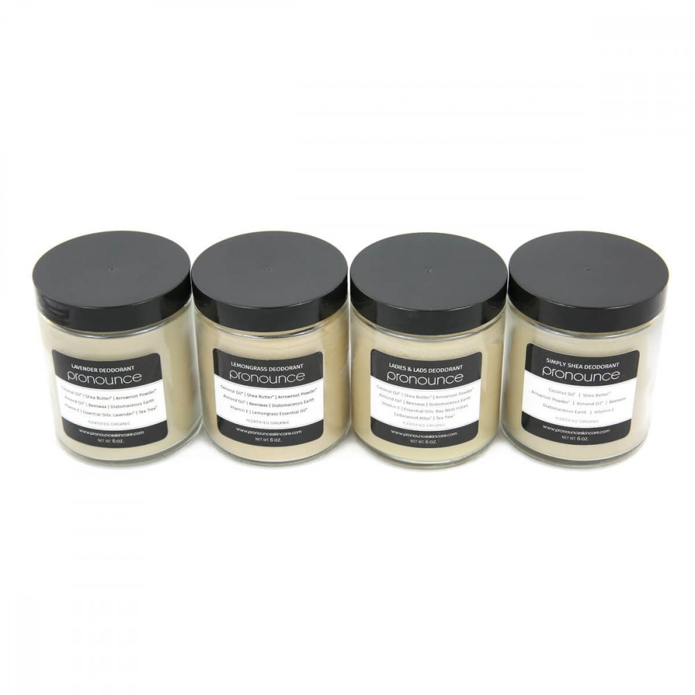 Original Recipe Deodorants 6oz Size Pronounce Skincare & Herbal Boutique