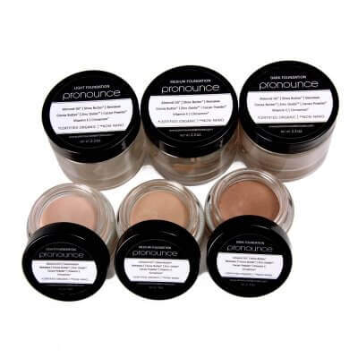 Facial Foundation (3 shades lid off) - Pronounce Skincare