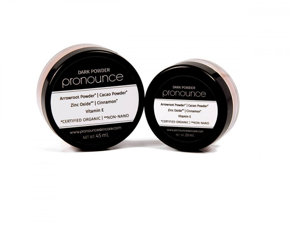Dark Facial Powder - Pronounce Skincare