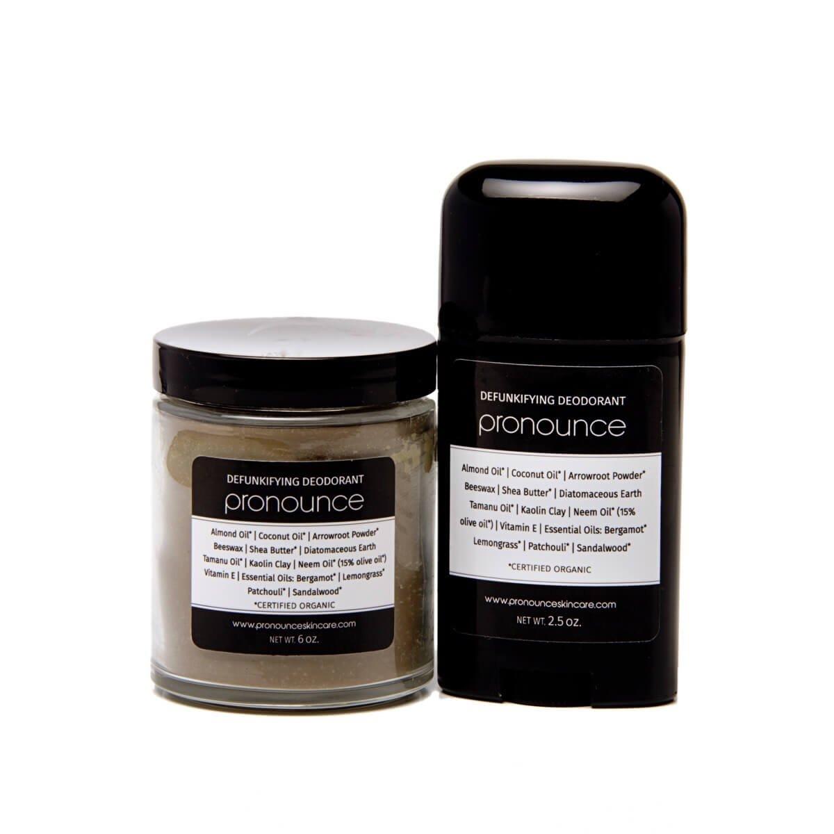 DeFunkifying Deodorant - Pronounce Skincare 1200 x 1200