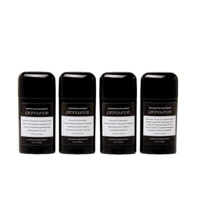 Deodorant Tubes (all scents & recipes) - Pronounce Skincare