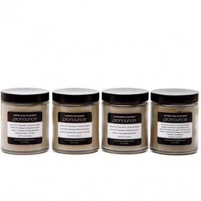Deodorants 6oz Jars (all) - Pronounce Skincare