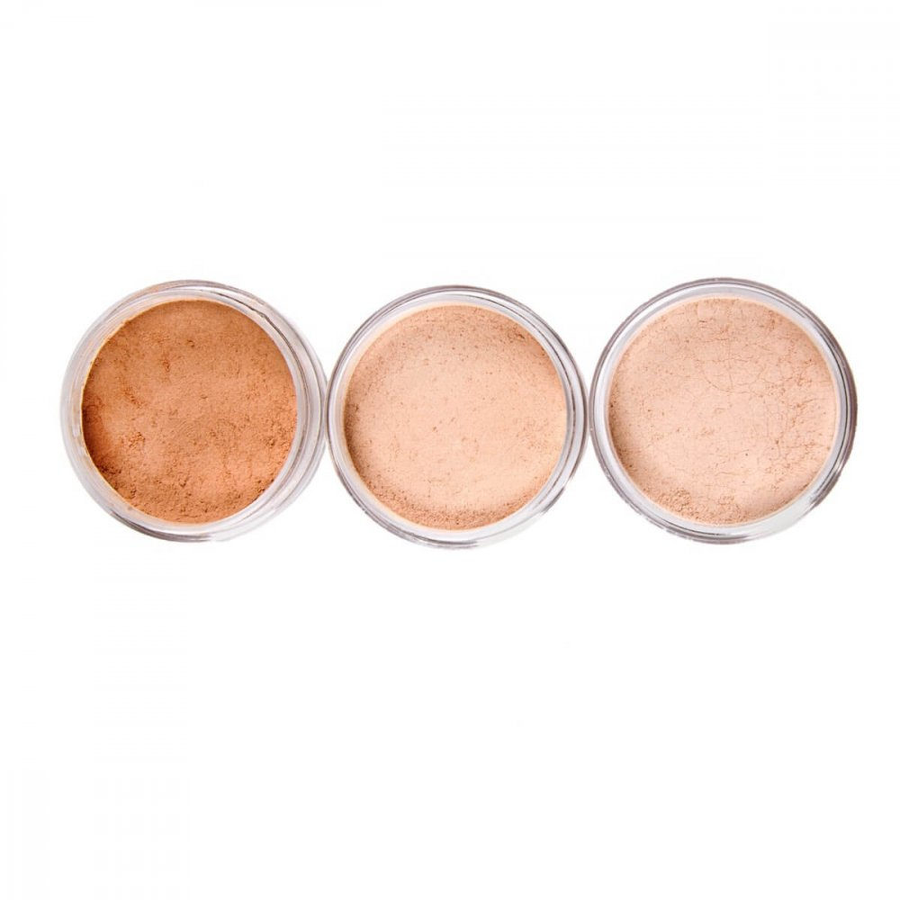 Facial Powder - Pronounce Skincare (3 shades lids off)