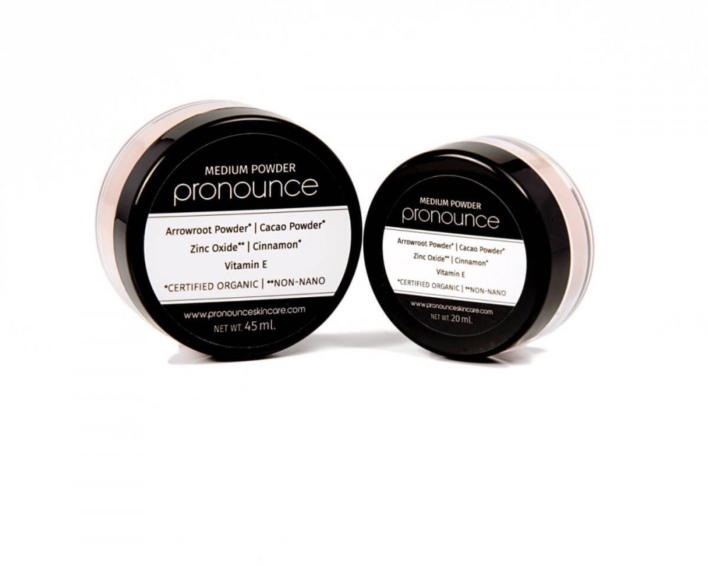 Medium Facial Powder (2 sizes) - Pronounce Skincare