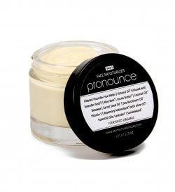 Face Moisturizer - Pronounce Skincare (lid off)