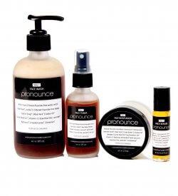 Total Face System - Pronounce Skincare (Face Wash, Face Toner, Face Moisturizer, Face Serum)