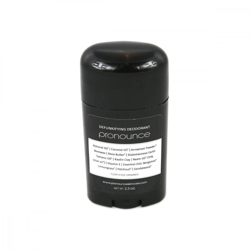 DeFunkifying Deodorant 2.5oz Pronounce Skincare & Herbal Boutique