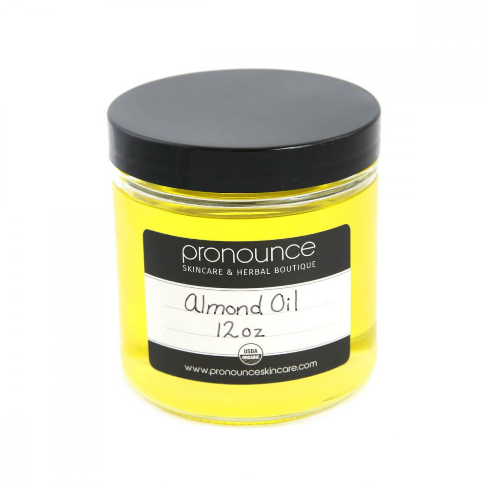 Certified Organic Almond Oil 12oz Pronounce Skincare & Herbal Boutique
