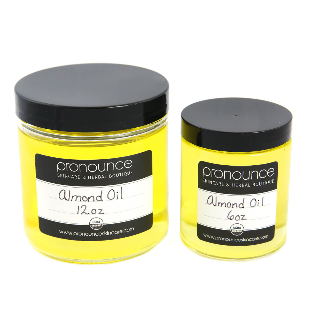 Certified Organic Almond Oil 2sizes Pronounce Skincare & Herbal Boutique