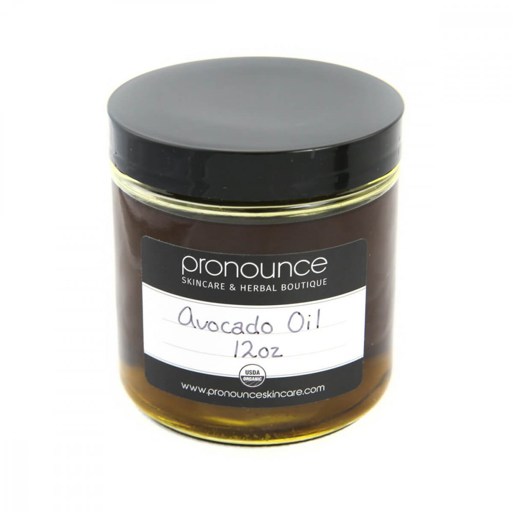 Certified Organic Avocado Oil 12oz Pronounce Skincare & Herbal Boutique