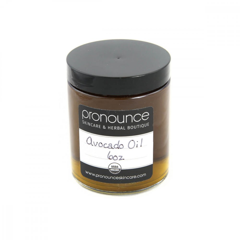 Certified Organic Avocado Oil 6oz Pronounce Skincare & Herbal Boutique