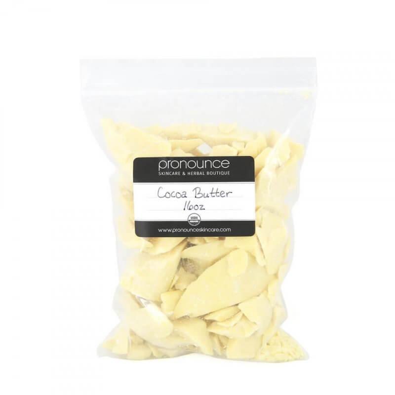 Certified Organic Cocoa Butter 16oz Certified Organic Shea Butter 8oz Pronounce Skincare & Herbal Boutique