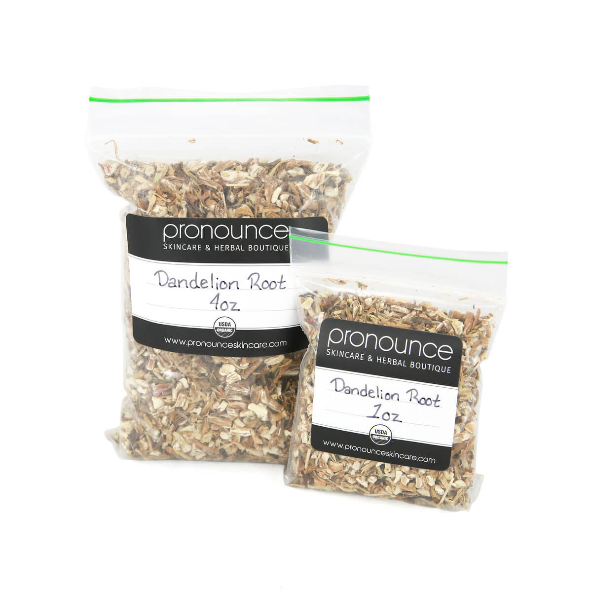 Certified Organic Dandelion Root 2 Sizes Pronounce Skincare & Herbal Boutique