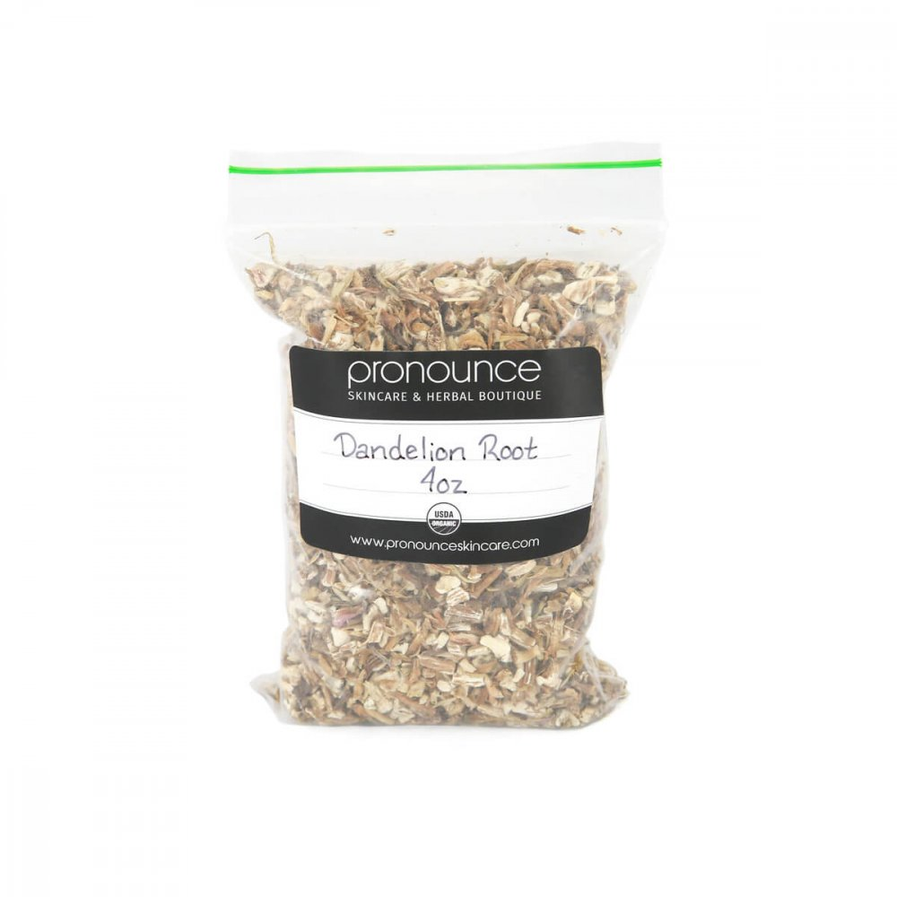 Certified Organic Dandelion Root 4oz Pronounce Skincare & Herbal Boutique