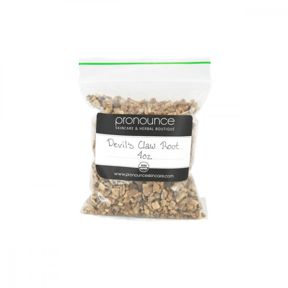 Certified Organic Devil's Claw Root 4oz Pronounce Skincare & Herbal Boutique