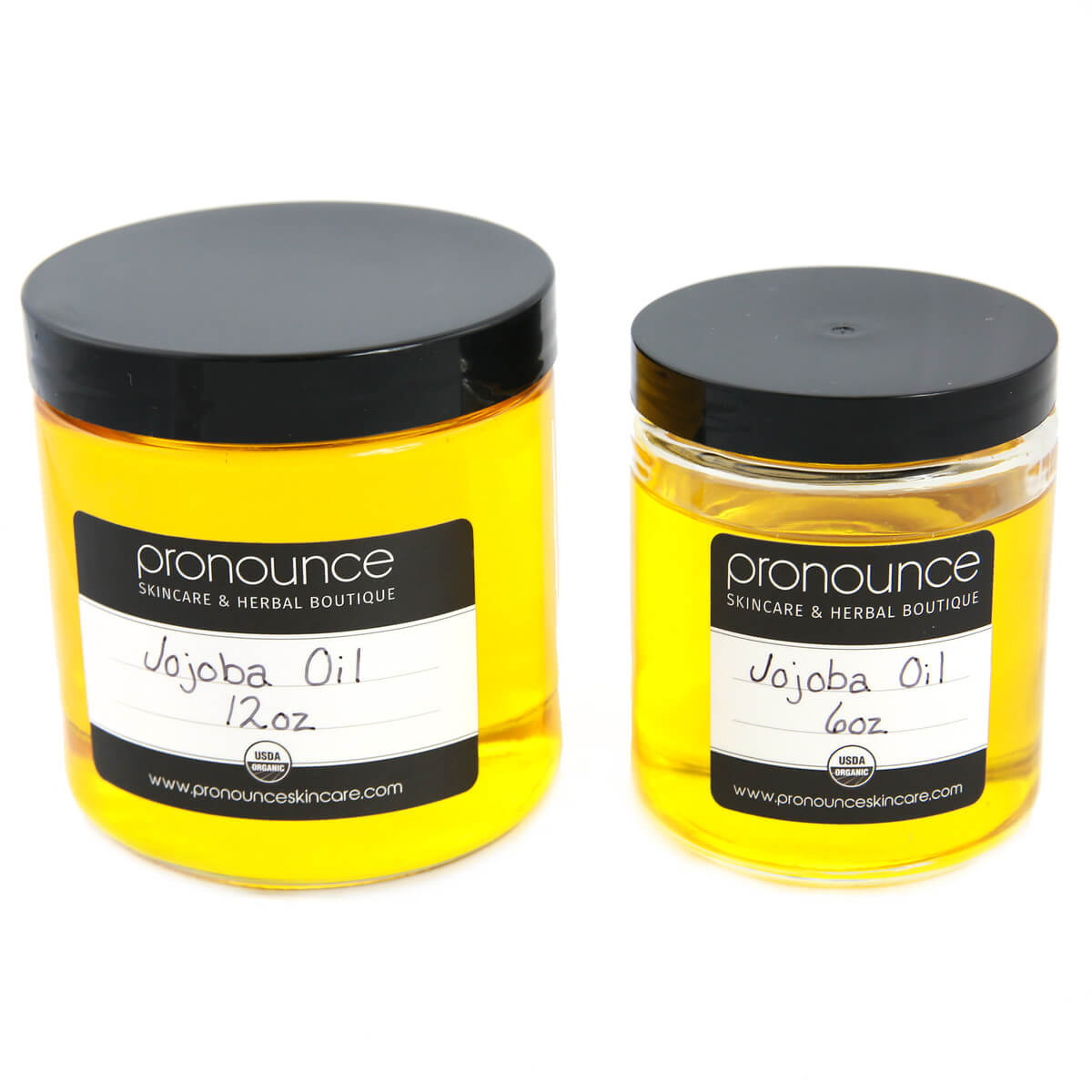 Certified Organic Jojoba Oil 2 Sizes Pronounce Skincare & Herbal Boutique