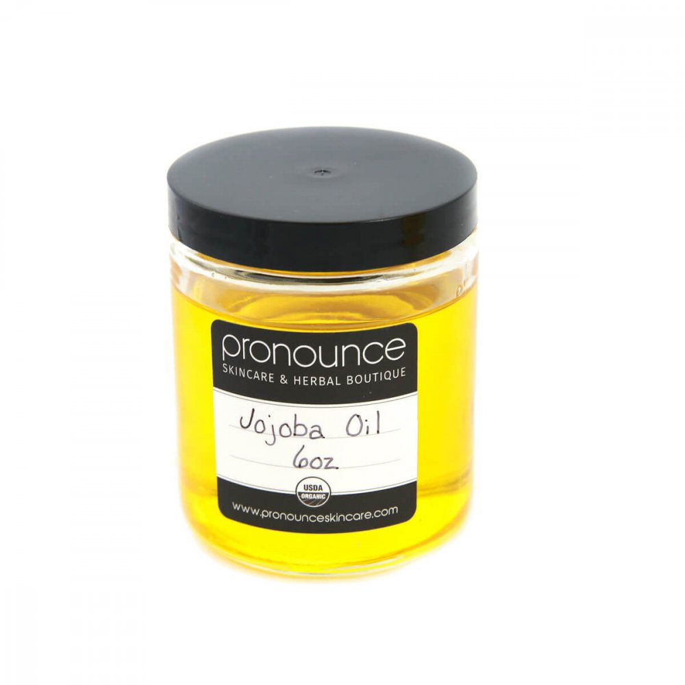 Certified Organic Jojoba Oil 6oz Pronounce Skincare & Herbal Boutique