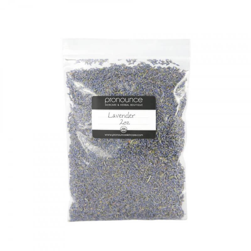Certified Organic Lavender Flowers 2oz Pronounce Skincare & Herbal Boutique