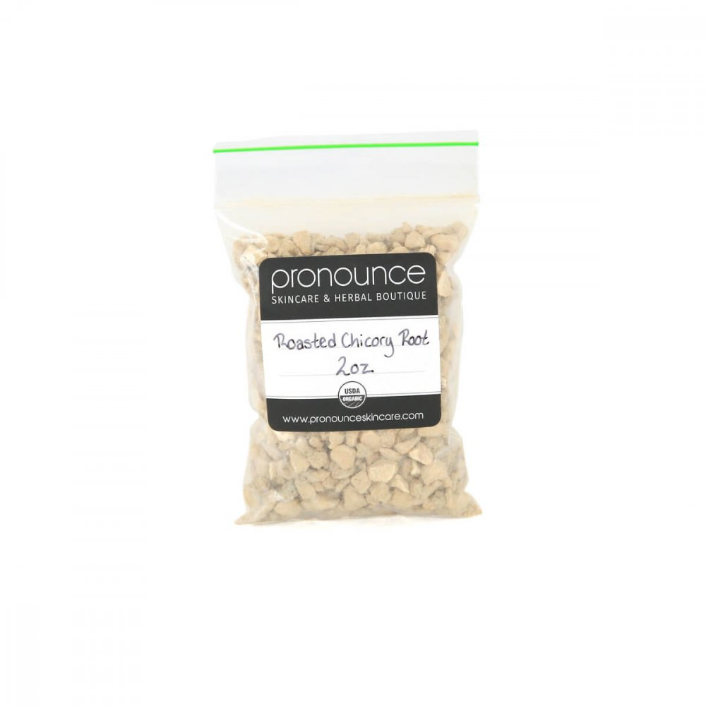 Certified Organic Roasted Chicory Root 2oz Pronounce Skincare & Herbal Boutique