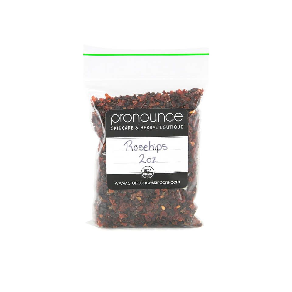 Certified Organic Rosehips 2oz Pronounce Skincare & Herbal Boutique