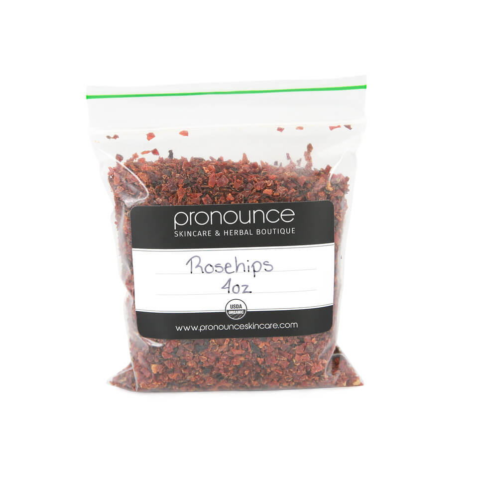 Certified Organic Rosehips 4oz Pronounce Skincare & Herbal Boutique