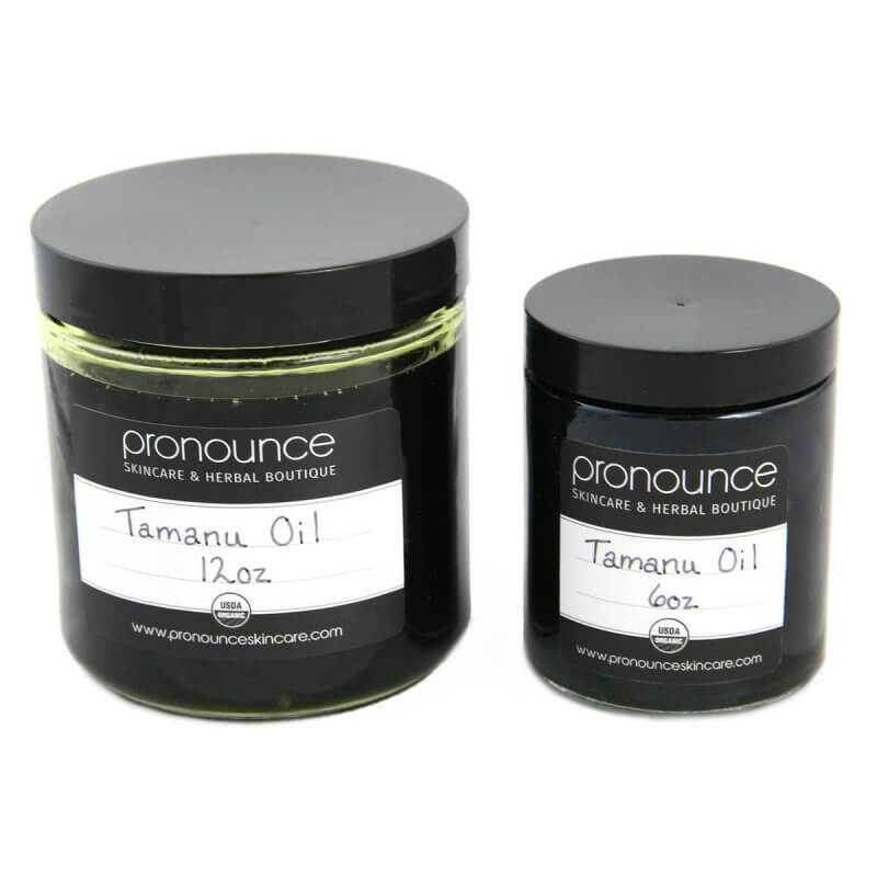 Certified Organic Tamana Oil 2 Sizes Pronounce Skincare & Herbal Boutique