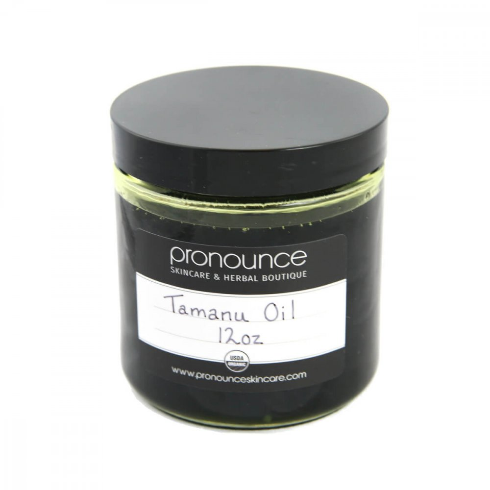 Certified Organic Tamanu Oil 12oz Pronounce Skincare & Herbal Boutique