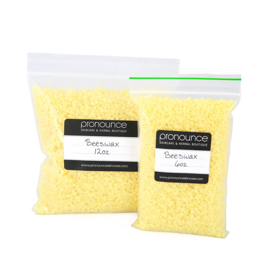 Natural Beeswax 2 Sizes Pronounce Skincare & Herbal Boutique
