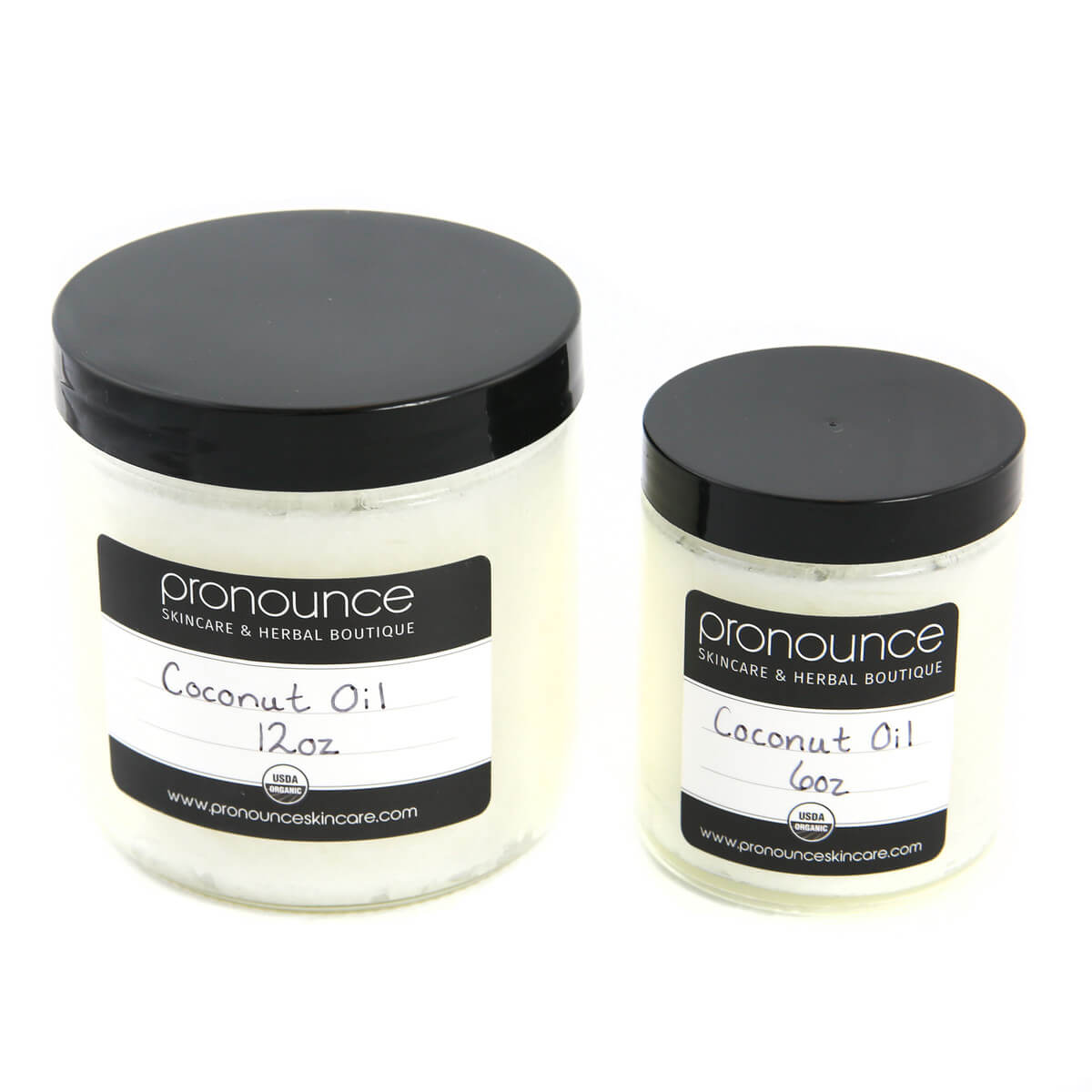 Certified Organic Coconut Oil 2 Sizes Pronounce Skincare & Herbal Boutique