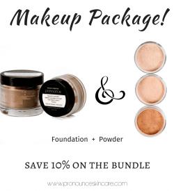 makeup-package-facial-foundation-facial-powder-pronounce-skincare-apothecary