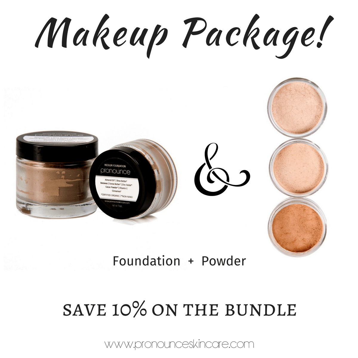 makeup-package-facial-foundation-facial-powder-pronounce-skincare-apothecary