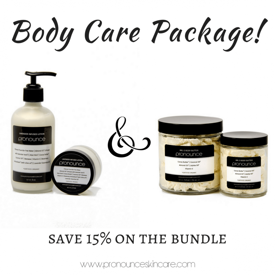 Body Care Package! Lavender-Infused Lotion + Body Butter. Bundle together by size and scent and save 15%!- Pronounce Skincare & Apothecary-2