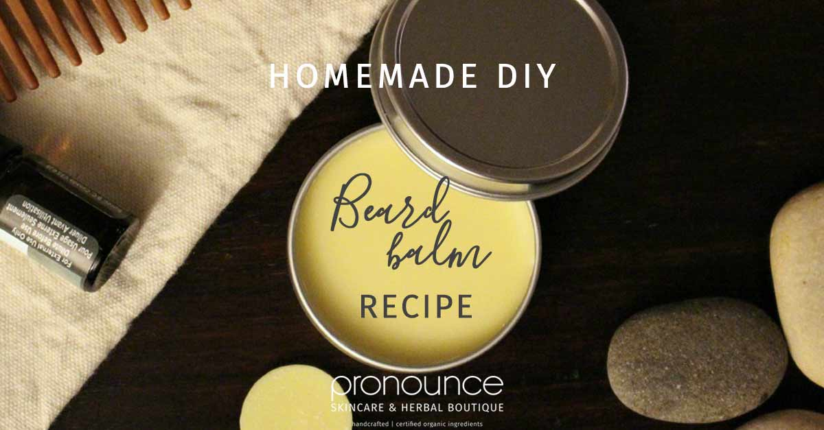 DIY All-Natural, Extra Hold Beard Balm • pronounceskincare com