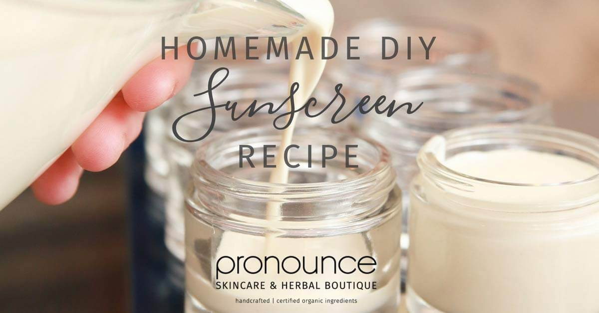 DIY Sunscreen – Easy To Make (and why YOU need this recipe)!
