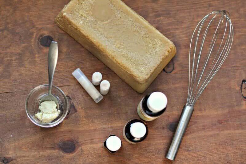 making natural skin care products