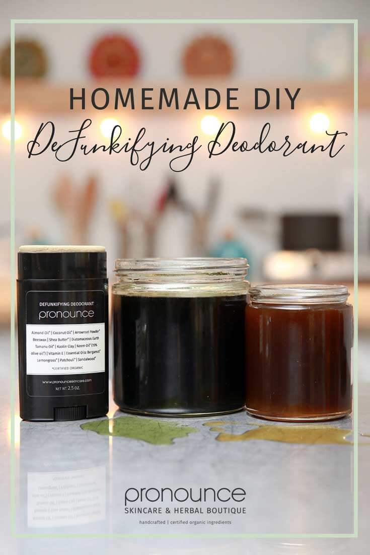 DeFunkifying DIY Deodorant – For sweaty armpits: Non-toxic