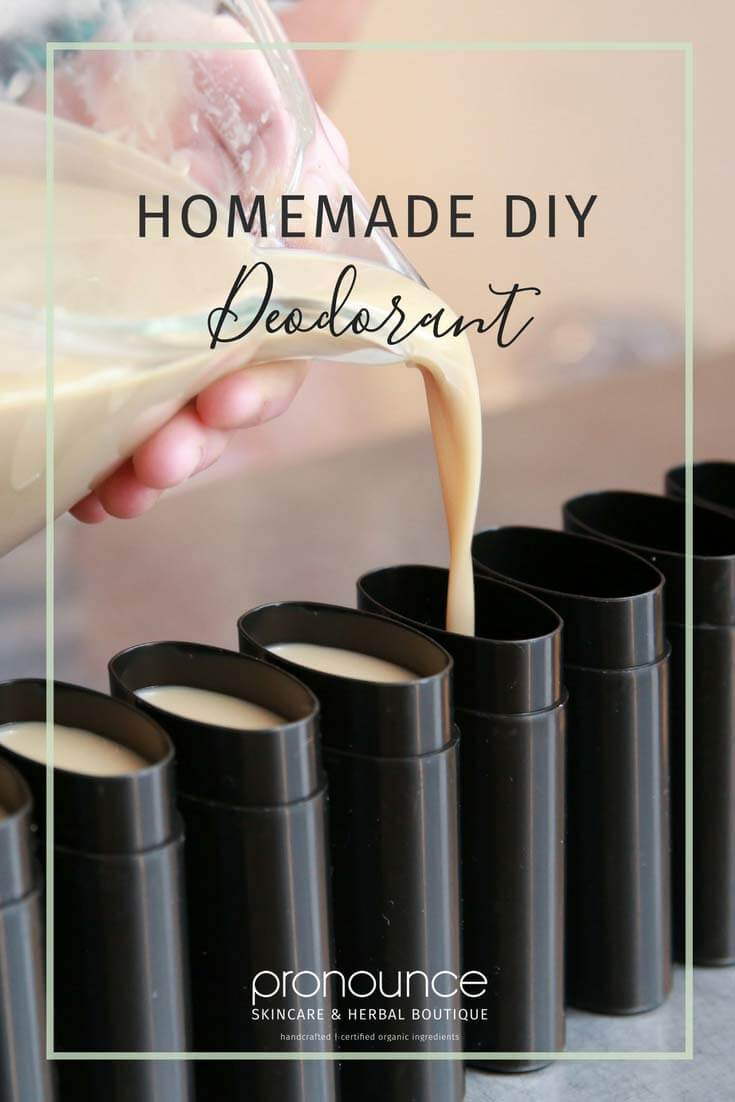 Homemade Diy Deodorant Recipe Secret Ingredient No Irritating