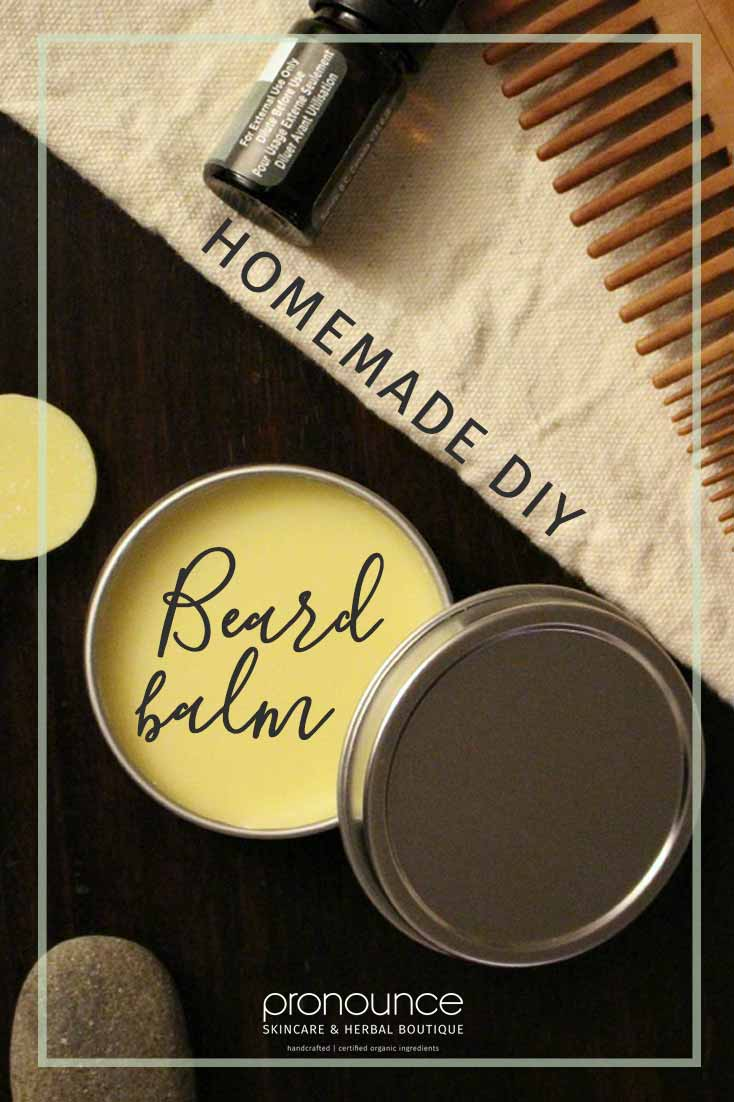 DIY All-Natural, Extra Hold Beard Balm