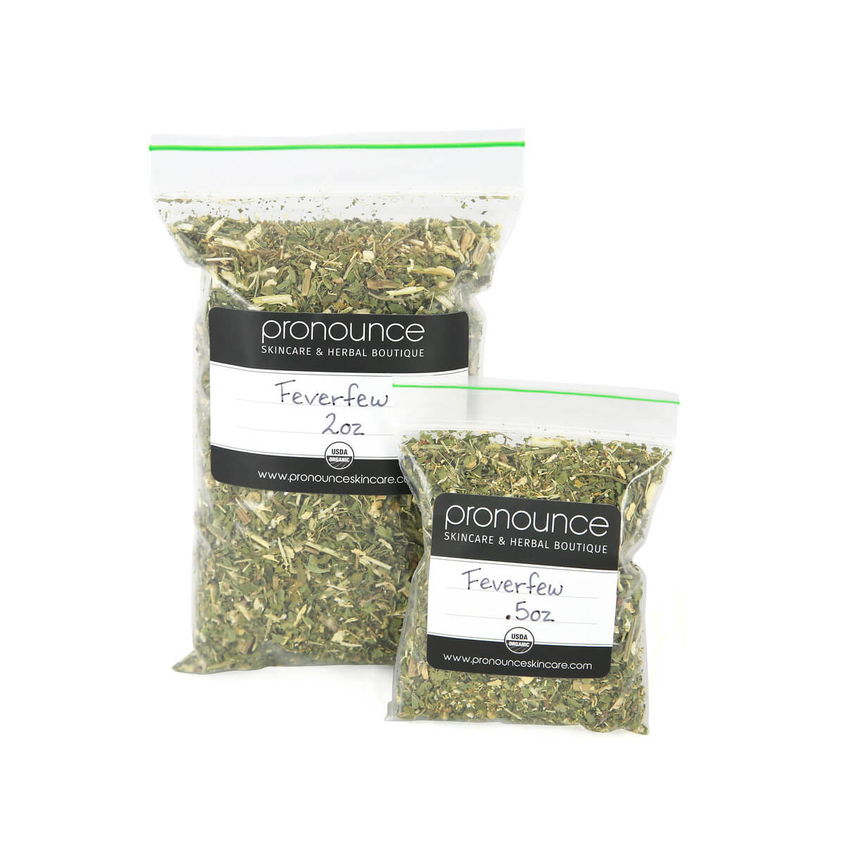 Certified Organic Feverfew 2 Sizes Pronounce Skincare & Herbal Boutique