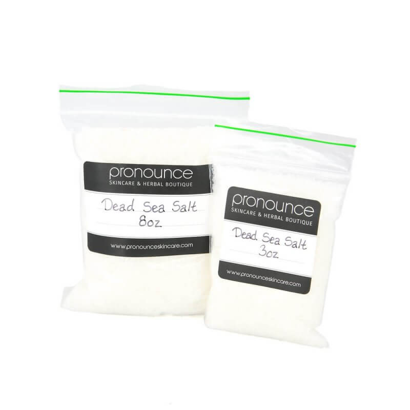 Dead Sea Salt 2 Sizes Pronounce Skincare & Herbal Boutique