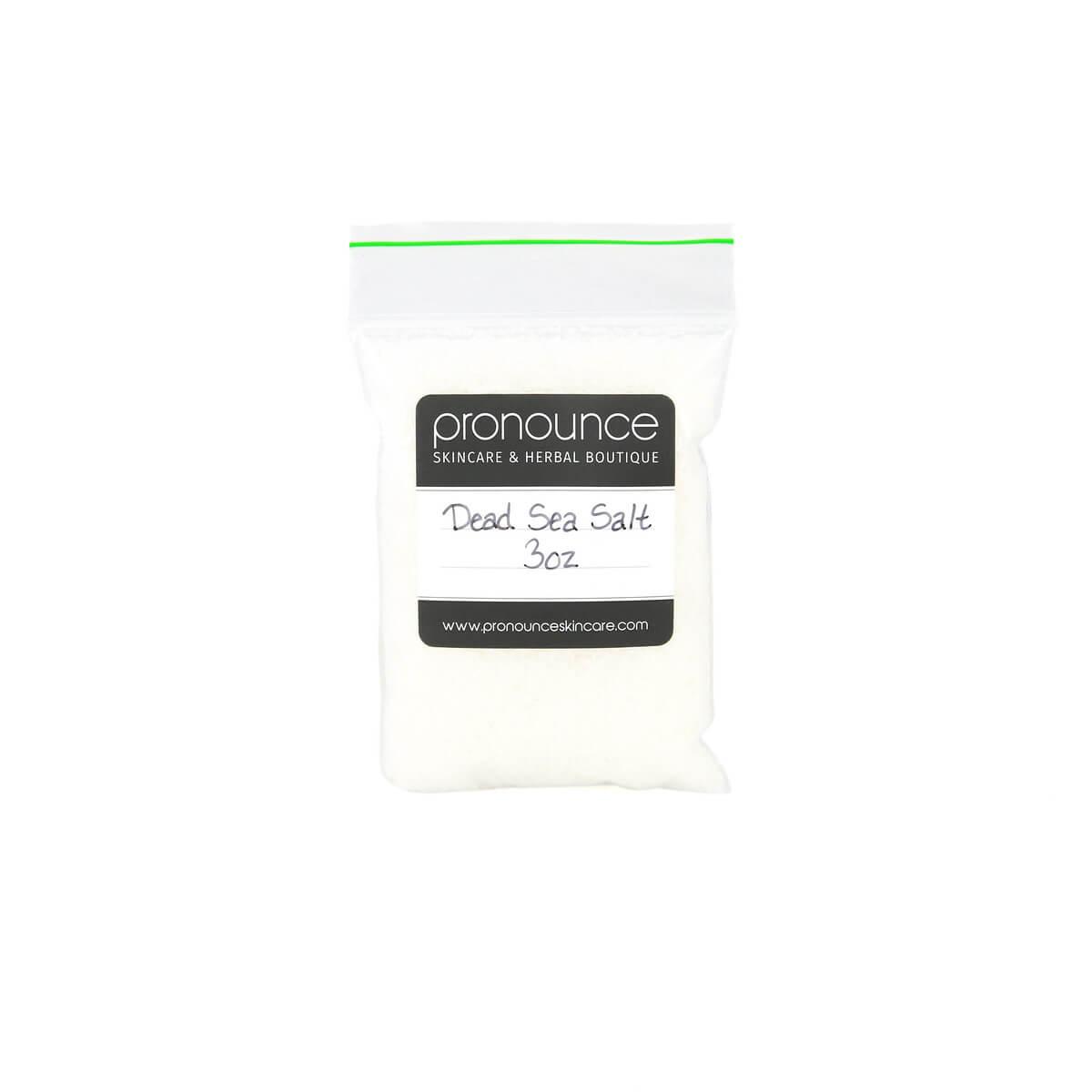 Dead Sea Salt 3oz Pronounce Skincare & Herbal Boutique