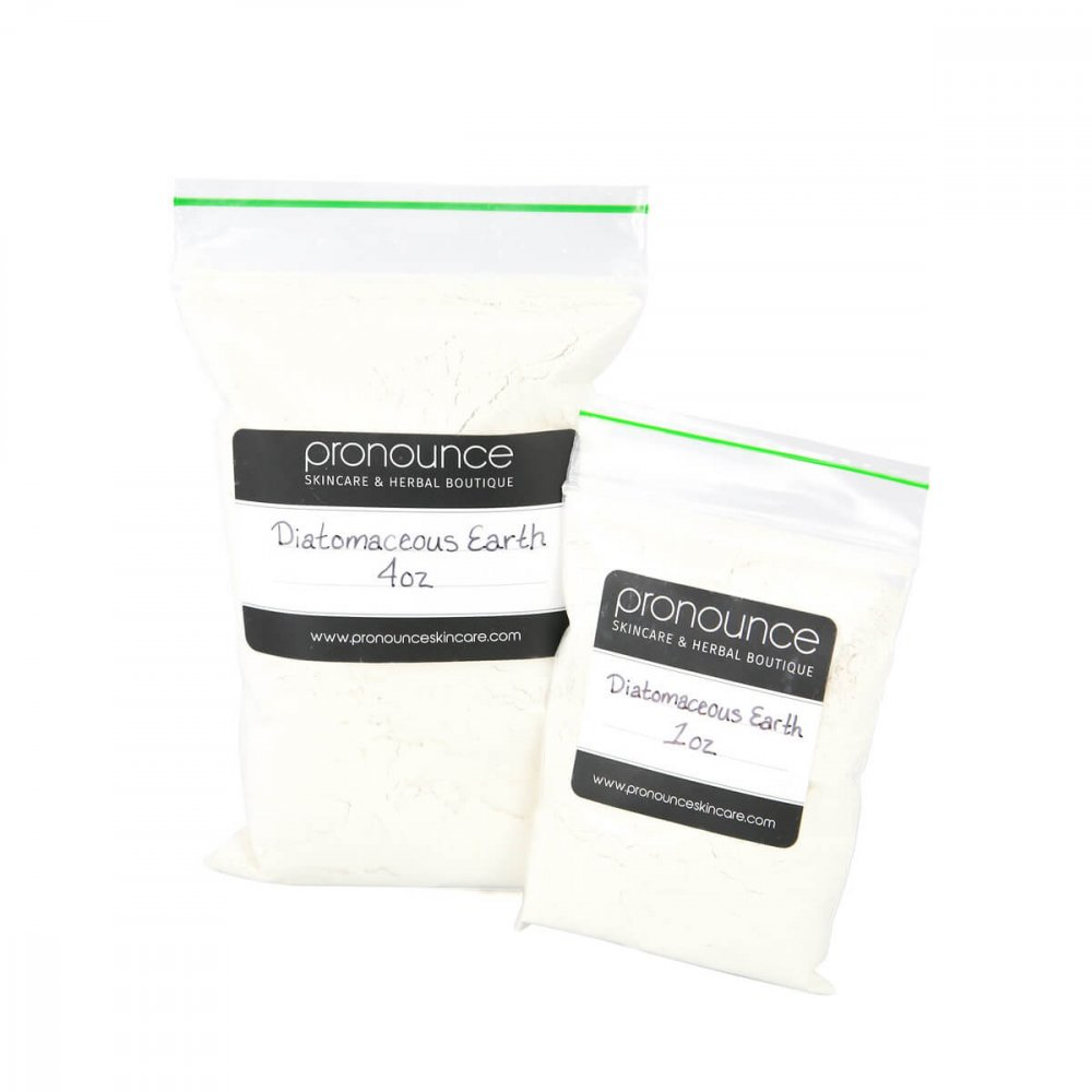 Diatomaceous Earth (food grade) 2 Sizes Pronounce Skincare & Herbal Boutique